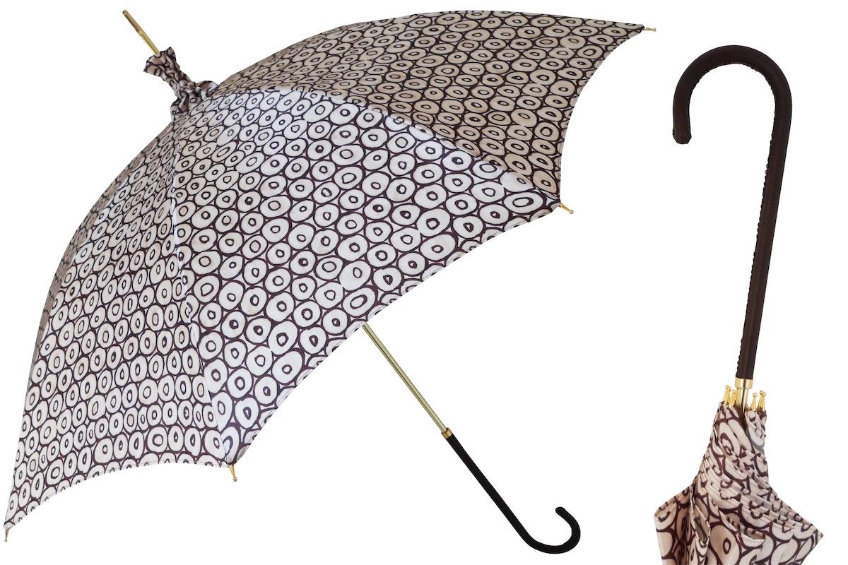 pasotti parasol c rculos con apertura manual impermeable parasoles firmados. Black Bedroom Furniture Sets. Home Design Ideas